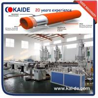 Wholesale Plastic pipe extrusion line for PPR-AL-PPR/PERT-AL-PERT/PEX-AL-PEX pipe overlap welding from china suppliers
