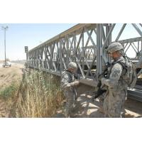 Wholesale Military Use Assembled Long Span Bridge Steel Truss Bridge With Surface Galvanized from china suppliers