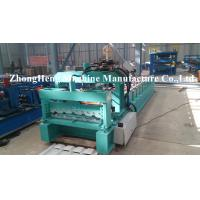 Wholesale Galvanized / Aluminum Roof Sheet Glazed Tile Roll Forming Machine with two models from china suppliers
