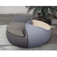 Wholesale Grey Fashion Comfortable Outdoor Rattan Daybed For Beach / Pool from china suppliers
