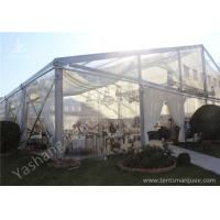 Wholesale Clear Top / Wall PVC Fabric Cover Outdoor Luxury Wedding Tents With White Linings from china suppliers