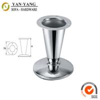 Buy cheap 80mm high durable furniture replacement trumpet shaped metal sofa feet cabinet feet SL-216 from wholesalers