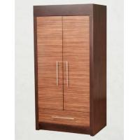Wholesale Wooden Two Door Wardrobe Storage Closet With Drawers For Hotel Bedroom from china suppliers