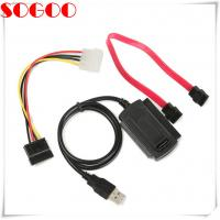 Wholesale SATA/PATA/IDE cable Drive to USB 2.0 For 2.5 / 3.5 Inch Hard Drive from china suppliers