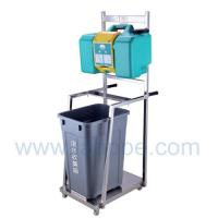 Quality SH8GT-Techsafe brand china factory 30L Gravity operated Eye wash with trooley cart 8 Gallon meets ansi Z358.1-2009 for sale