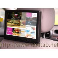 Wholesale 10 Inch Taxi Cab Media Player Capacitive Multi Touch Screen With 3G , GPS , Motion Sensor from china suppliers