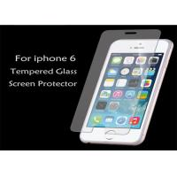 Wholesale 97%-99% Transperancy 9H Tempered Glass Screen Protectors Film For Iphone 6 OEM Packging from china suppliers
