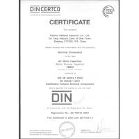 Wenling Nine Continent Electromechanical Co.,Ltd Certifications