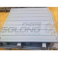 Wholesale Waterproof Galvanized Powder Coating Steel Metal Pallets Single Faced Eco-Friendly from china suppliers
