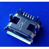 Wholesale CN MICRO USB 5P female connector,4pins,7.15 from china suppliers