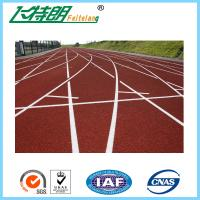 Buy cheap Spray Coat System Running Track Flooring All Weather Tracks Recycled from wholesalers