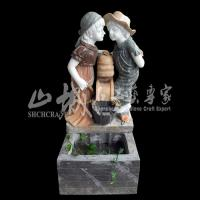 Wholesale Outdoor/Indoor Water Spray Stone Fountain from china suppliers
