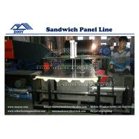 Wholesale Customized PU Sandwich Panel Roll Forming Machine With Flying saw cutting from china suppliers