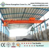 Wholesale Top Quality Double Girder Grab Crane For Removing Waste from china suppliers