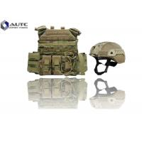 Wholesale Individual Lightweight Body Armor , Full Body Bulletproof Armor Camouflage Color from china suppliers