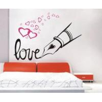 Wholesale Love Modern Designer PVC House Wall Decoration Stickers F232 from china suppliers