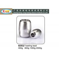 Wholesale Barrel type deep sea , river , saltwater fishing weights 400G/PCS Size from china suppliers