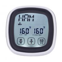 Wholesale Mini LCD Kitchen Timer Touchscreen Digital Meat Cooking Thermometer and Timer with probe from china suppliers