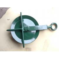 Wholesale Powder Coated HDG Wheel For Construction Sites Lifting Heavy Goods from china suppliers