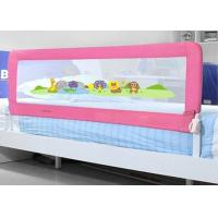 Wholesale Pink Tmesh Bed Rails Co Sleeping / Queen Size Bed Rails For Bunk Beds from china suppliers