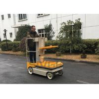 Quality 5.1m working height Self Propelled Electric One Man Lift For Cargo Handling for sale