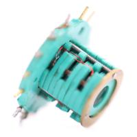 Wholesale 15 Circuits Separate Slip Ring Speed Up To 100 Rpm Continuous Pin Gold Plated Contact Materials from china suppliers