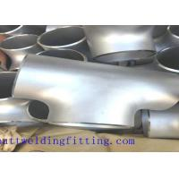 Wholesale UNS S32750 UNSS32760 Stainless Straight Butt Weld Tee Hot Forming from china suppliers