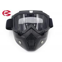 Wholesale Anti Dust UV Mask Dirt Bike Motorcycle Riding Goggles With Removeable Nose Guard from china suppliers