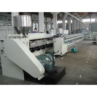 Quality PS Foamed Photo Frame PVC Profile Manufacturing Machine With PLC Control for sale