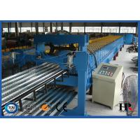 Wholesale Customized Metal Deck Roll Forming Machine With Mechanical Decoiler from china suppliers