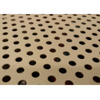 Wholesale Aluminium Perforated Metal Sheet Custom Hole Shape For Mechanical Device Protection from china suppliers