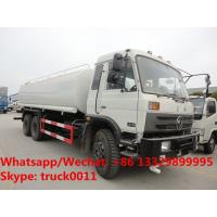 Buy cheap 2018s high quality and best price dongfeng 6*4 RHD 20,000L cistern water tank truck for sale, portable water tank truck from wholesalers