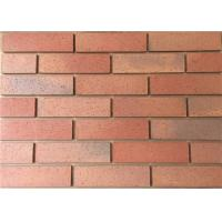 Wholesale Outside Wire Cut Red Cladding Exterior Thin Brick  For Building Construction from china suppliers