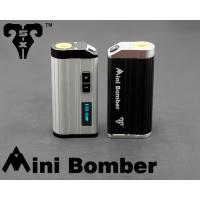 Wholesale 2600mah Portable Variable Voltage E cig Mini Bomber 25W Box Mod from china suppliers
