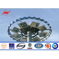 Wholesale 40m Multi Sided Seaport Lighting High Mast Tower With Lifting System from china suppliers