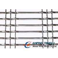 Buy cheap SS304 Pre-Crimped Type, Long Slot  Screen Mesh, Durable and Beautiful from wholesalers