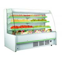 Wholesale Three Shelves Cooler Multideck Open Display Refrigerator R404 / R22 Refrigerant from china suppliers