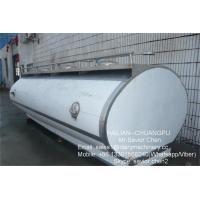 Wholesale Dairy Equipment Milk Cooling Tank Milk Truck Tank Transport 10000L Capacity from china suppliers