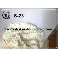 Wholesale Safe Delivery SARMs White Powder S-23 for Increasing Muscle Mass with High Quality from china suppliers