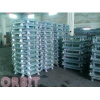 Wholesale Stacking Collapsible Steel Wire Mesh Pallet Cage For Warehouse Storage from china suppliers