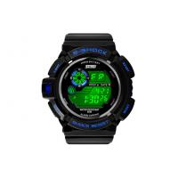 Wholesale Boys Fashion Black LCD Screen Multifunction Digital Watch With EL Backlight from china suppliers