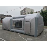 Quality Custom PVC Inflatable Event Tents , Giant Inflatable Car Paint Booth for sale