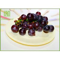 Wholesale Natural Color Wooden Dinner Plates , Eco Friendly Wooden Party Plates For Pizza from china suppliers