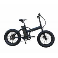 Wholesale Bafang Motor Electric Folding Bike With Fat Tires , Max Speed 35-40km/H from china suppliers