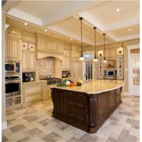 Wholesale French style raised panel door maple wood kitchen cabinet from china suppliers