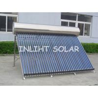 Wholesale Compact Pressurized Solar Water Heater 360L  with stand frame  for  Hotel Water Heating from china suppliers