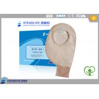 Wholesale Medical Disposable Two Piece Ostomy pouch Soft Non woven , Use With Flange from china suppliers