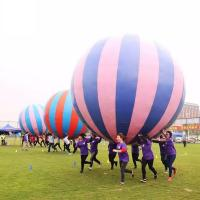 Buy cheap Racing Inflatable Challenging Course Competitive Fun Run With Holding a Big Inflatable Ball Together from wholesalers