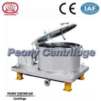 Wholesale Plate Type Lifting Batch Basket Centrifuge , Airtight Equipment For Solid Particle from china suppliers