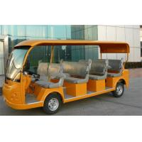 Wholesale Tourist Electric Shuttle Bus , 11 Person Electric Passenger Bus For Reception from china suppliers